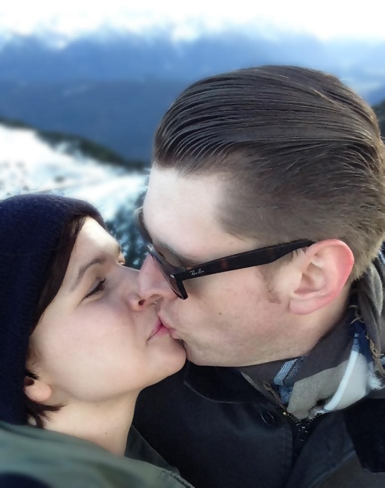 Herzogstand Gipfel Selfie