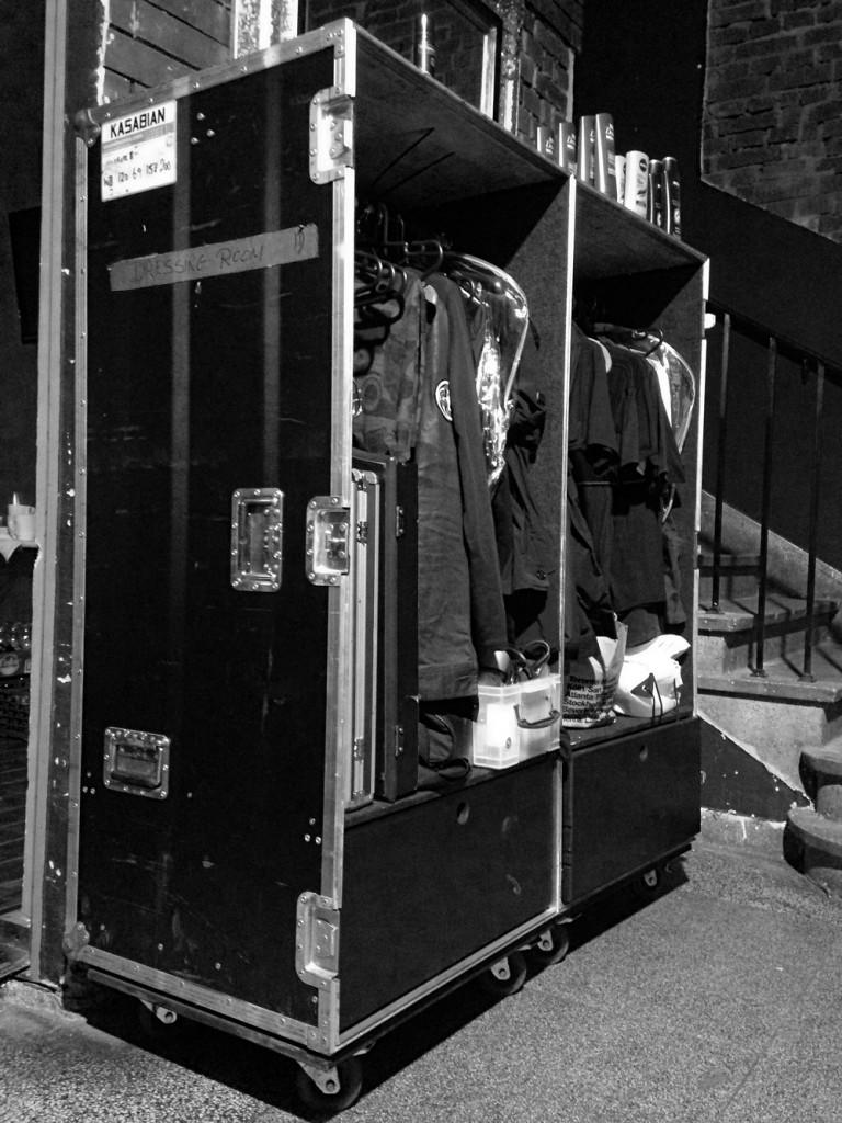 Kasabian Backstage