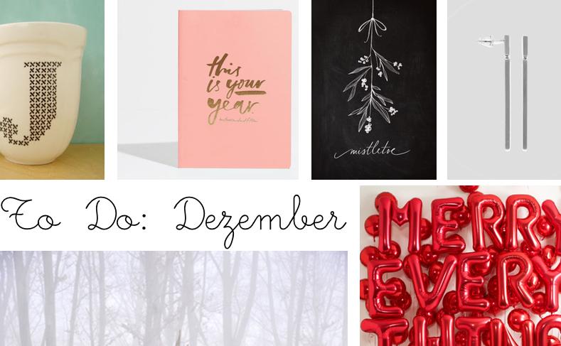 To Do Dezember