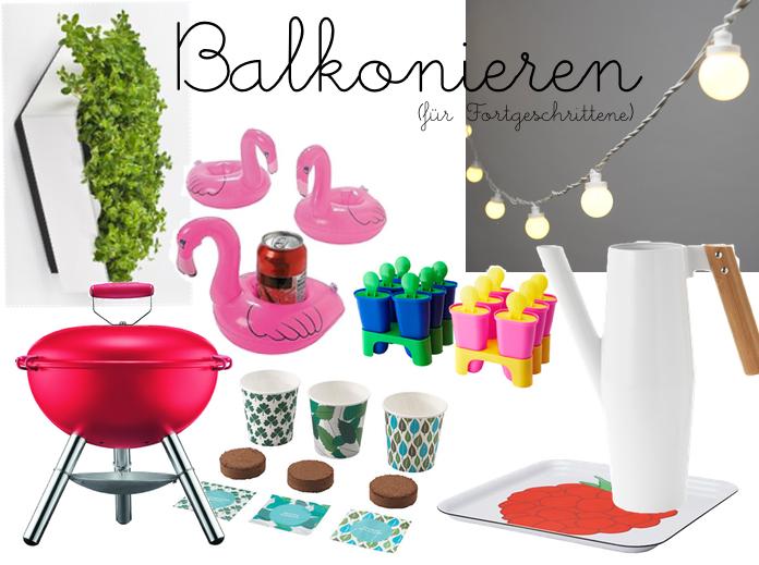 Balkonieren / juliefahrenheit.com