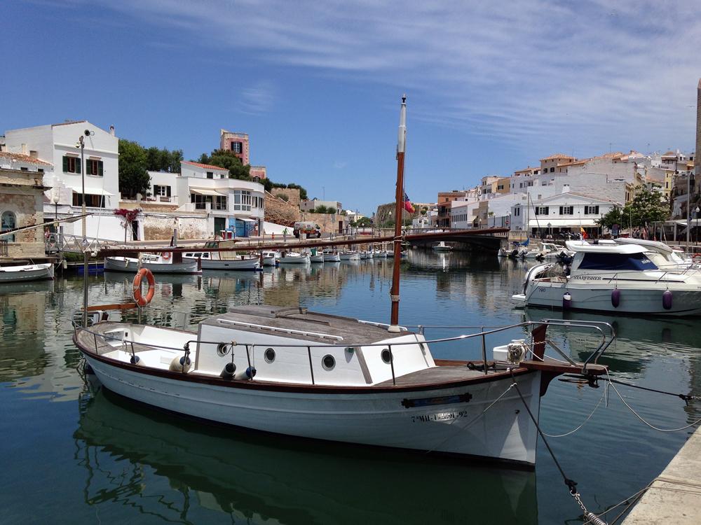 Hafen von Ciutadella. Menorca