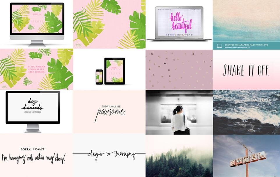 Die schönsten Wallpaper | via Julie Fahrenheit