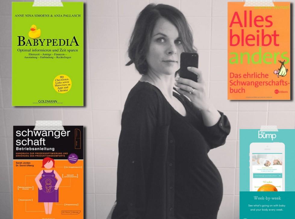 Drei Bücher für die Schwangerschaft (und eine App) | Julie Fahrenheit