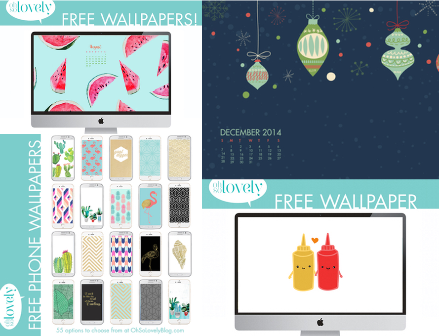 Wallpaper Oh So Lovely | Julie Fahrenheit