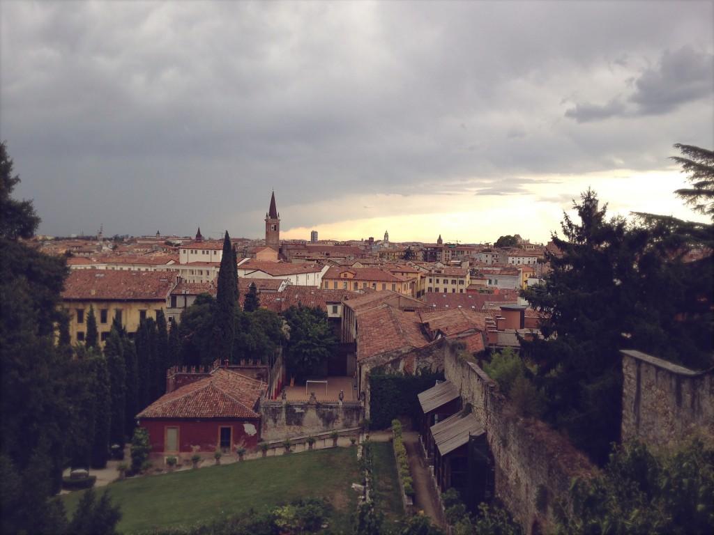 Ausblick vom Giardino Giusti, Verona | Julie Fahrenheit