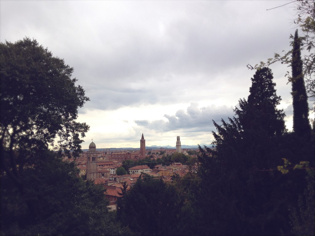 Giardino Giusti Ausblick, Verona | Julie Fahrenheit