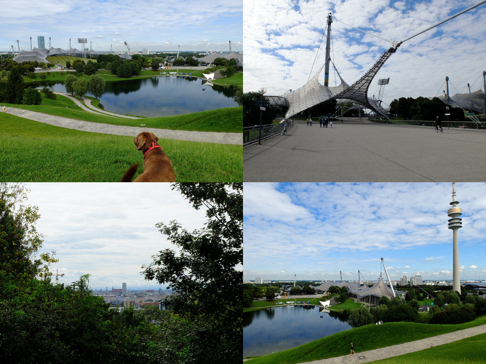 Olympiapark Spaziergang | Julie Fahrenheit