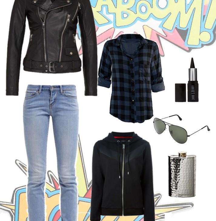 Jessica Jones Outfit | Julie Fahrenheit