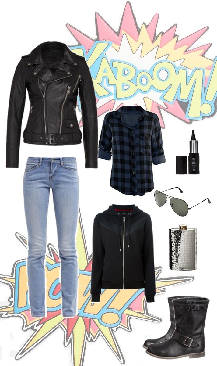 Jessica Jones Outfit   Julie Fahrenheit