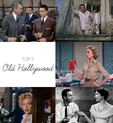 Top 5: Old Hollywood | Julie Fahrenheit