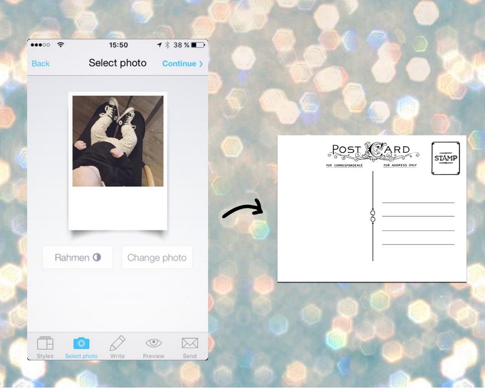 App des Monats: MyPostcard | Julie Fahrenheit