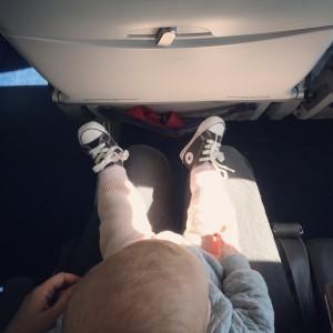 Fliegen mit Baby - Tipps und Tricks | Julie Fahrenheit