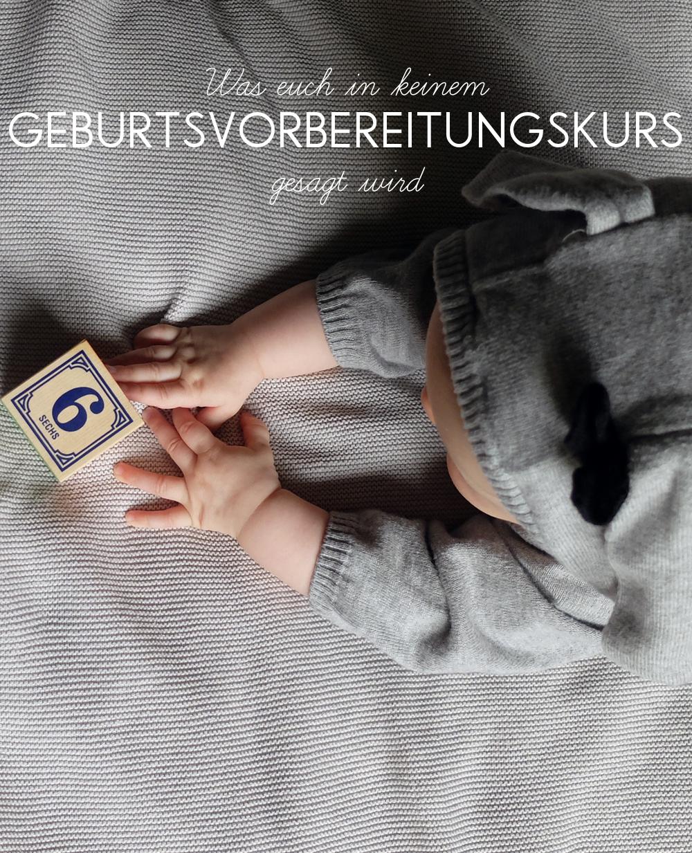 Was euch in keinem Geburtsvorbereitungskurs gesagt wird | Julie Fahrenheit