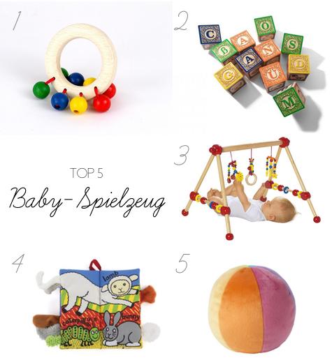 Top 5: Baby Spielzeug | Julie Fahrenheit
