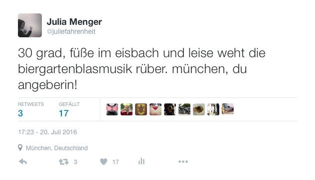 Sommer in München | Julie Fahrenheit