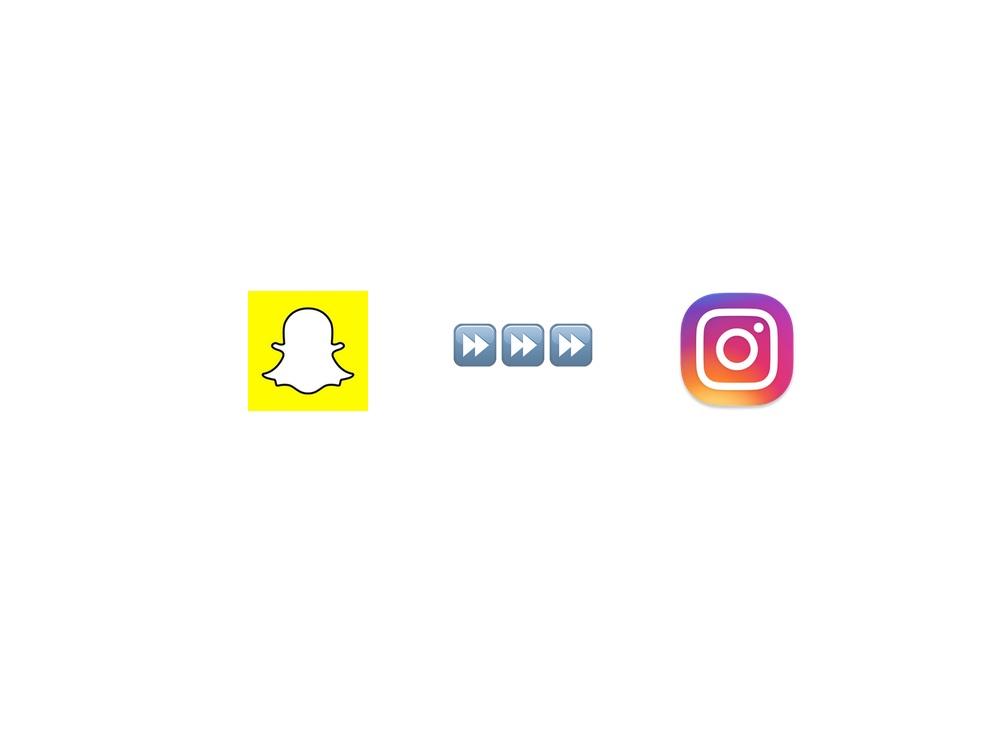 Snapchat-Snaps zu Instagram kopieren | Julie Fahrenheit
