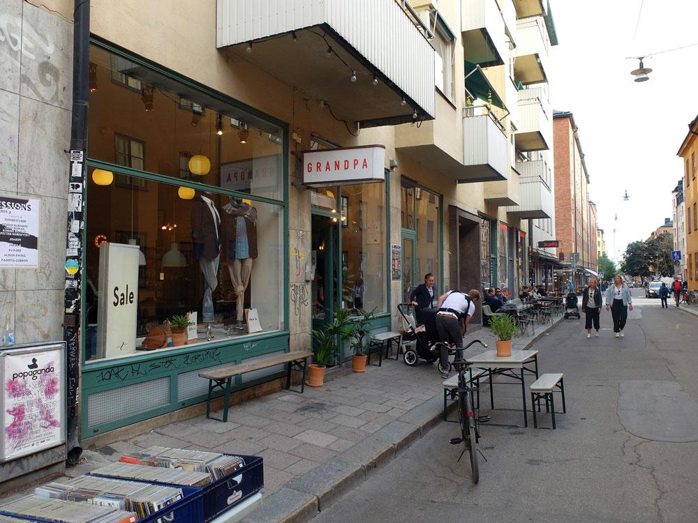 Grandpa, Södermalm | Julie Fahrenheit