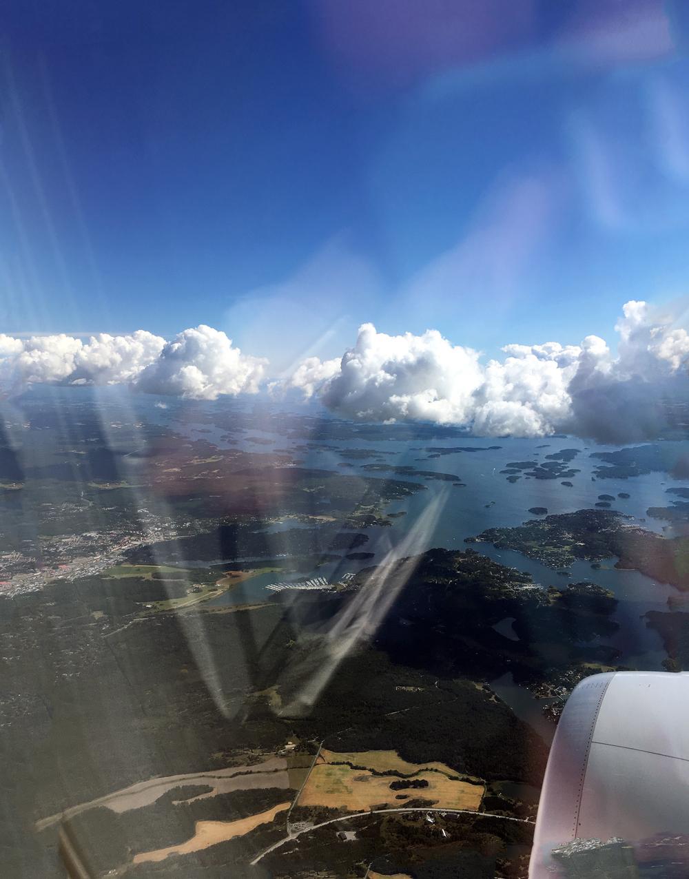 Anflug Stockholm | Julie Fahrenheit