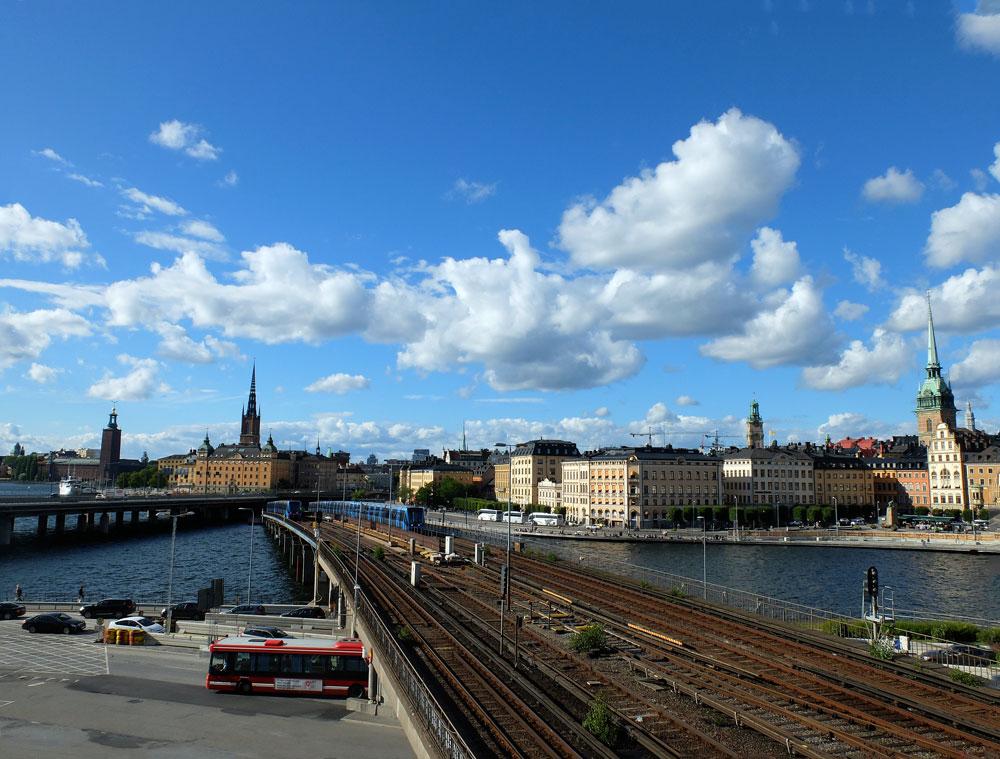 Stockholm Skyline| Julie Fahrenheit