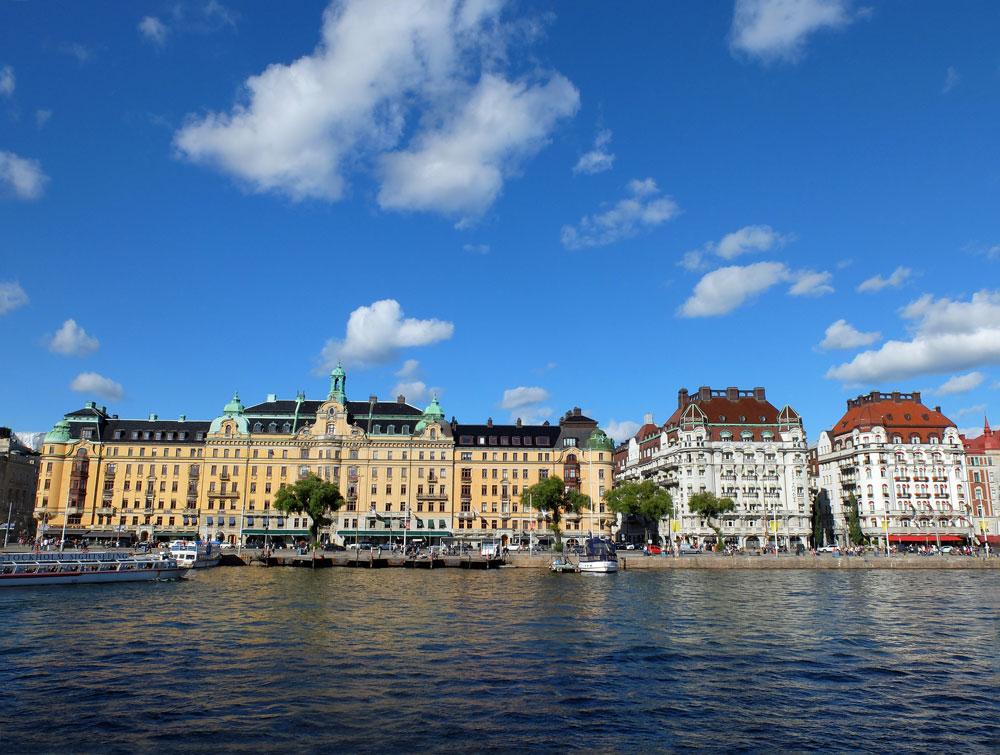 Stockholm vom Boot aus | Julie Fahrenheit