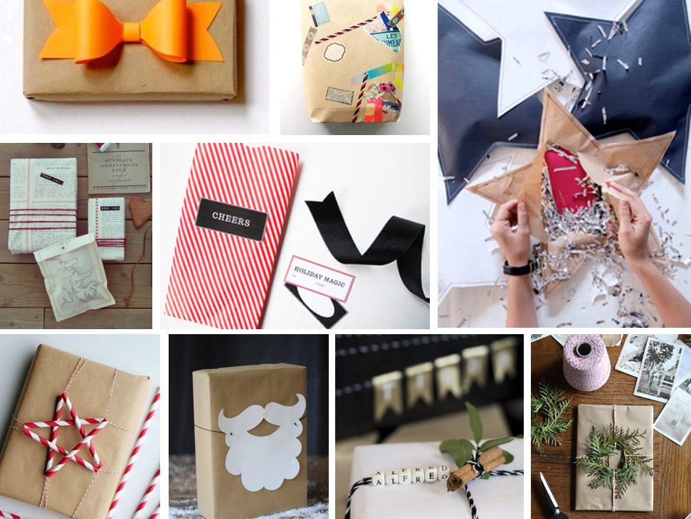 DIY Geschenke einpacken | Julie Fahrenheit