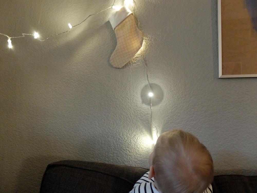Nikolausstrumpf, selbstgenäht | Julie Fahrenheit