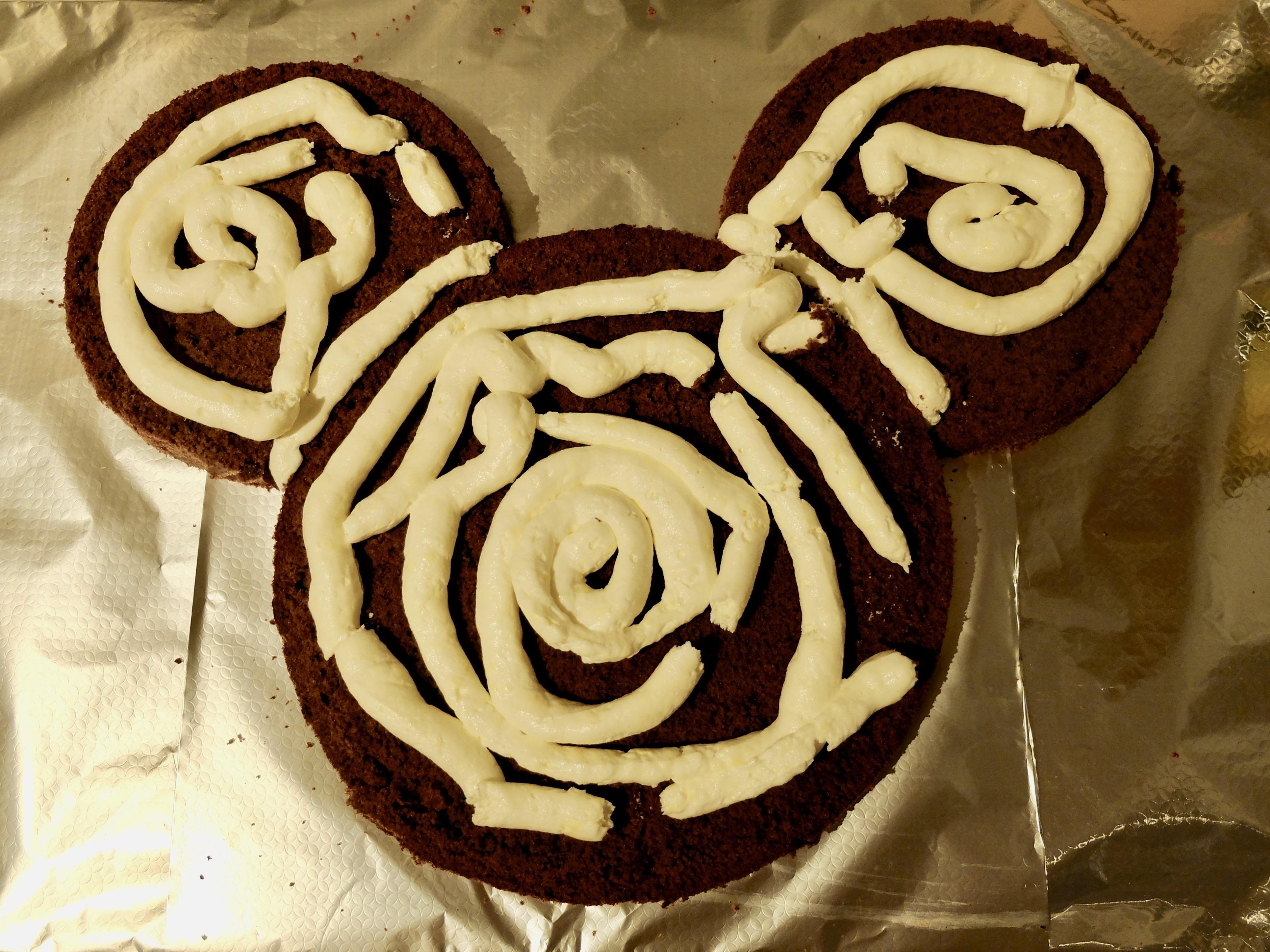 Mickey Mouse Kuchen Nicht Zu Schwer Julie Fahrenheit